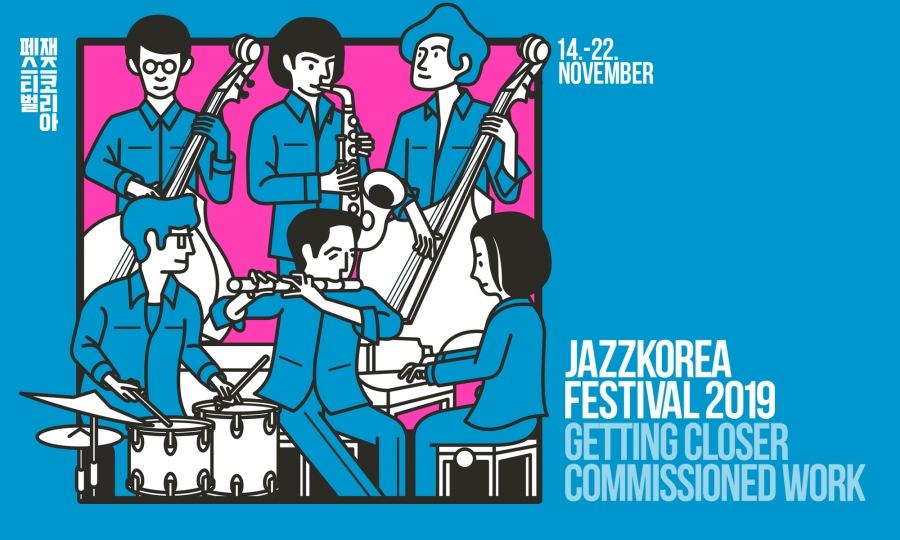 JazzKorea 2019: Getting Closer - Comissioned Work