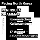 facing north korea : PENINSULA GRAMMAR
