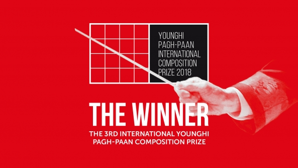 "The Winner of ""The 3rd International Younghi Pagh-Paan Composition Prize"""